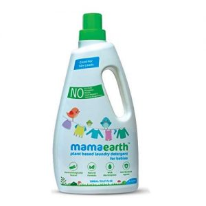 Mamaearth's Plant Based Baby Laundry Liquid Detergen