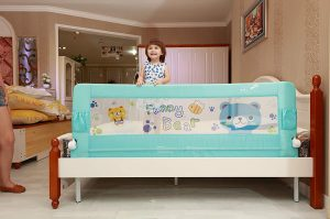Kiddale Extra Long Foldable Baby Safety Bed Rail