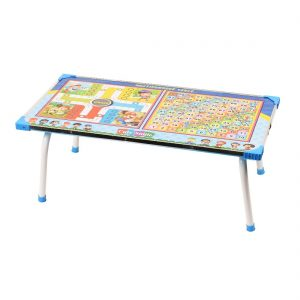 Digionic Wooden Printed Foldable Study Table