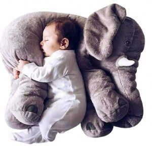 DearJoy Baby Elephant Pillow