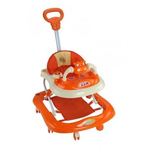Mee Mee Baby Walker with Height Adjustability