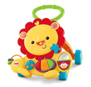 Fisher-Price Musical Baby Walker Lion